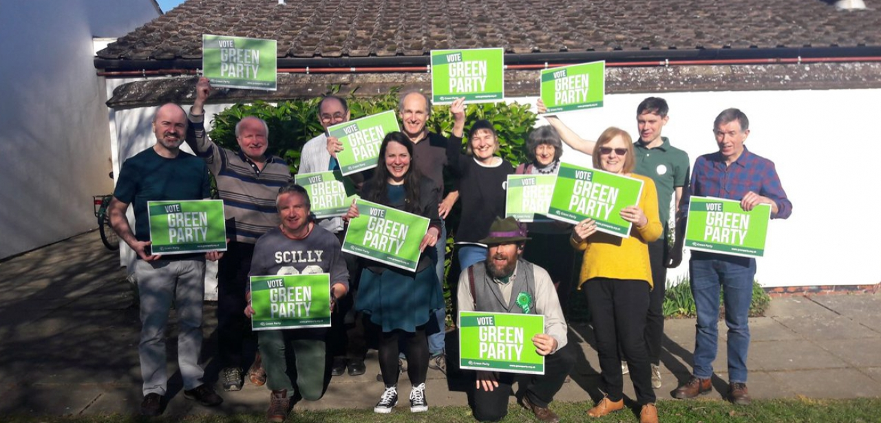 Aylesbury Vale Green Party campaigners