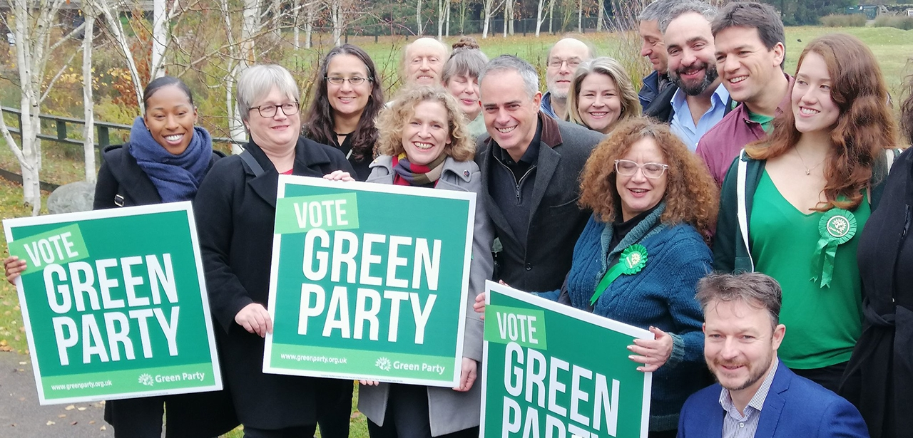 Green Party manifesto launch November 2019