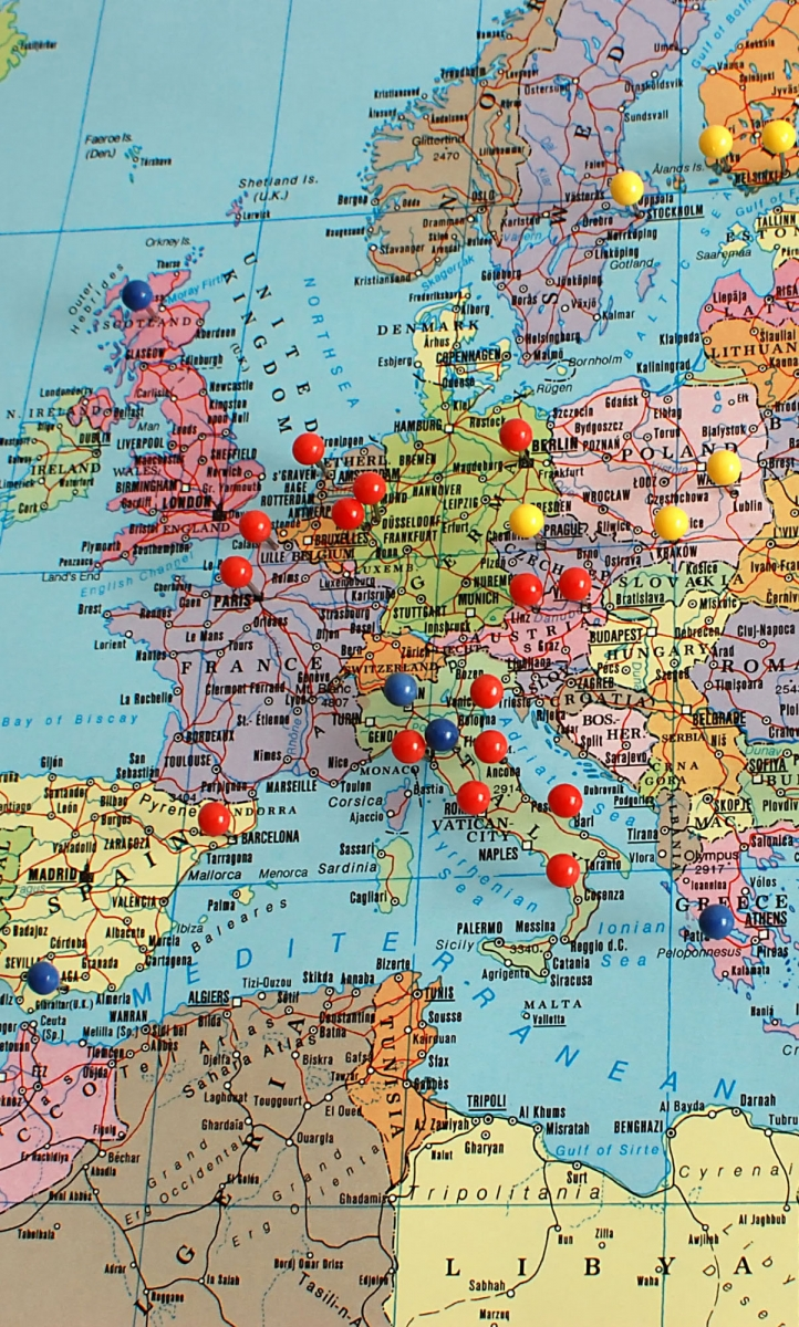 Where Is Germany On The Map Of Europe.Europe S Green Wave Of Hope Green World