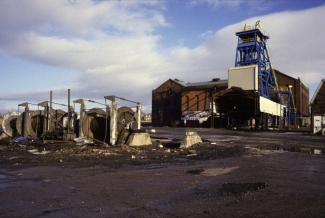 Haig Colliery, West Cumbria