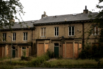 Empty homes in Bradford, 2010