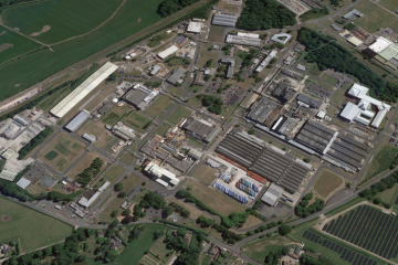 Springfields nuclear plant in Lancashire