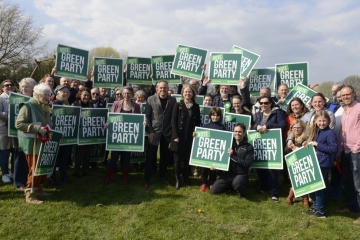 Green Party local election campaign launch 2019