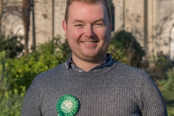 Image of new Green councillor in Brighton and Hove, Martin Osborne