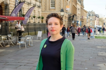 Carla Denyer, Green Party parliamentary candidate for Bristol West