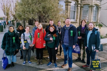 Green Party canvassers