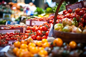 Tomatoes at Borough Market